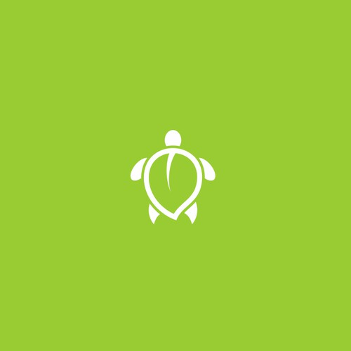 "Playful logo for biodegradable single use plates company ""turtle safe"""