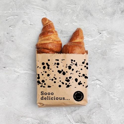 Brand identity and packaging design for Dot Dot Dot Bakery