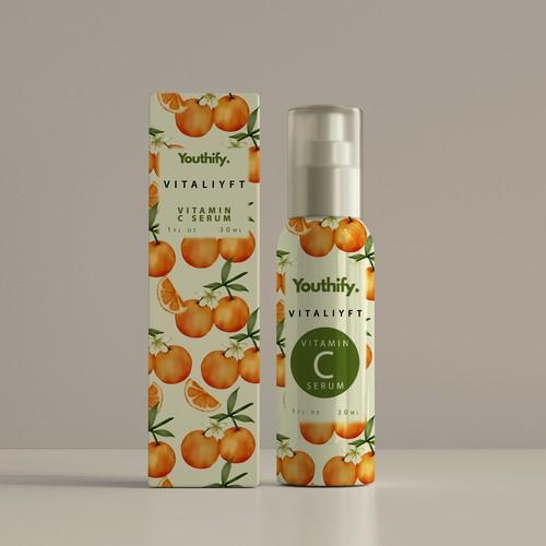 Vitamin C Serum design