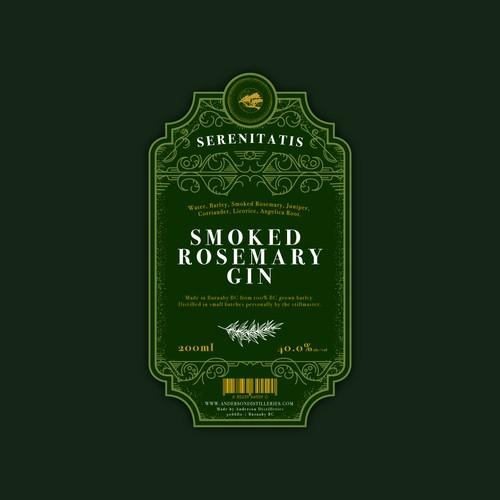 Smoked Rosemary Gin