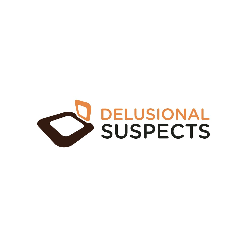 """Comedy website """"Delusional Suspects"""" is looking for a creative new logo"""