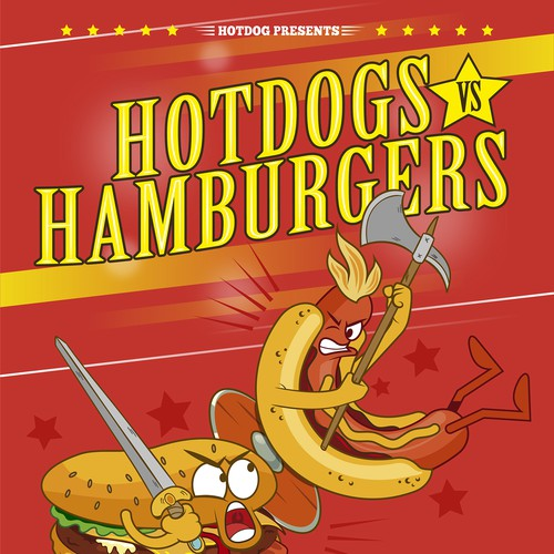 Hotdogs vs Hamburgers