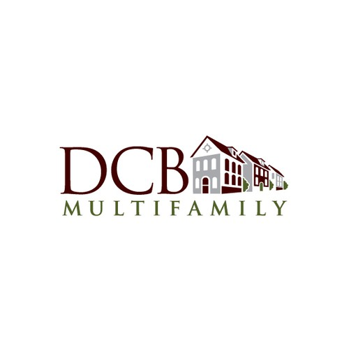 Create an eyecatching and innovative logo for DCB Multifamily