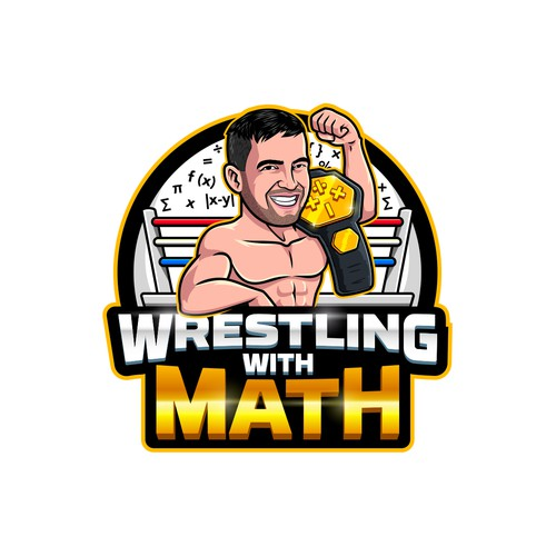 Wrestling With Math Logo