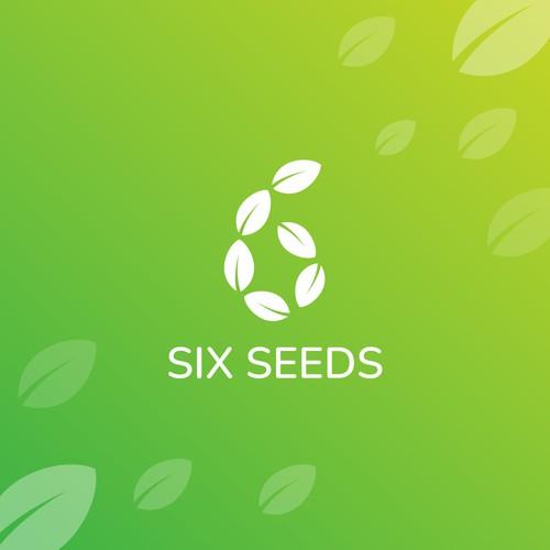 six seeds logo design