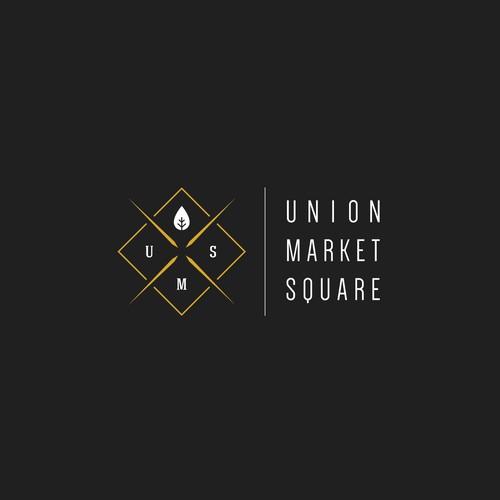 A hipster logo for a market/bistro