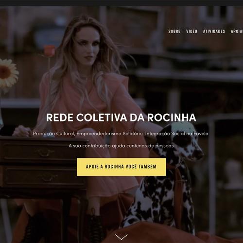 Website development for ONG in Brazil