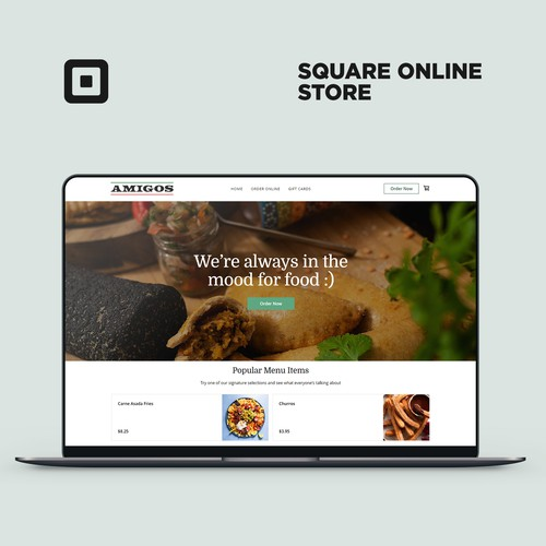 Square Online Store For Amigos