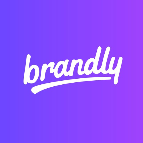 Script logo for Brandly Company