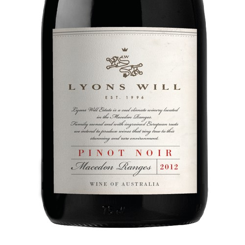 a timeless label for a boutique winery