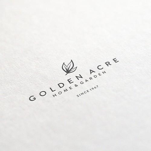 Logo concept for Golden Acre