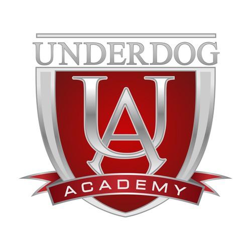 Create the next logo for Underdog Academy