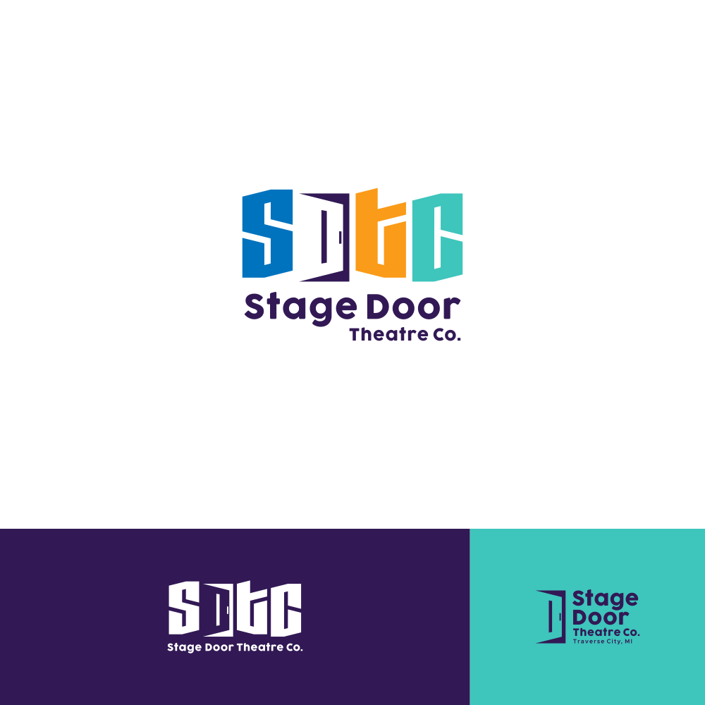 Design a cutting edge logo for Stage Door Theatre Co.