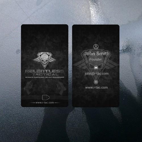 R-Tac Business Card
