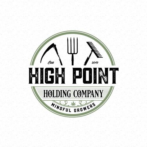 Logo for canabis company
