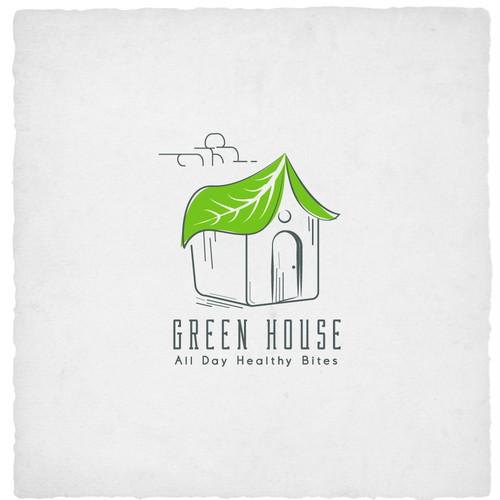 Cute Creative Logo for Green House