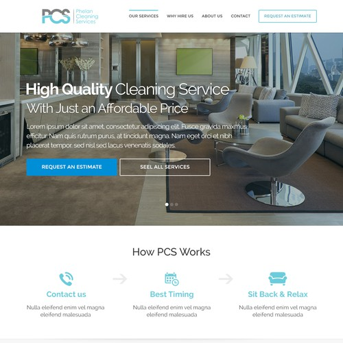 Home Page Cleaning Service