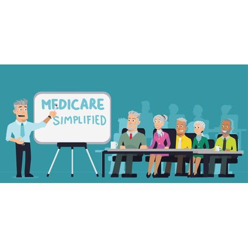 Concept for Medicare Illustration