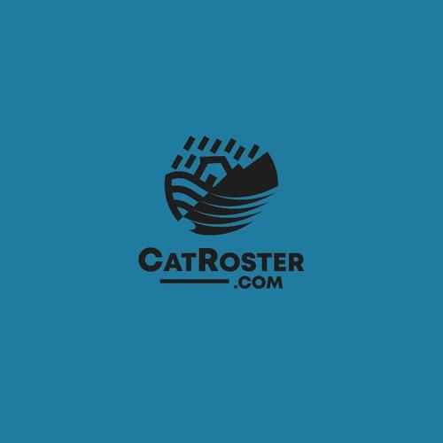 CatRoster Logo Design