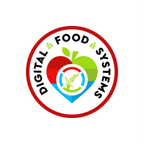 LOGO DESIGN FOR Digital Foods Systems