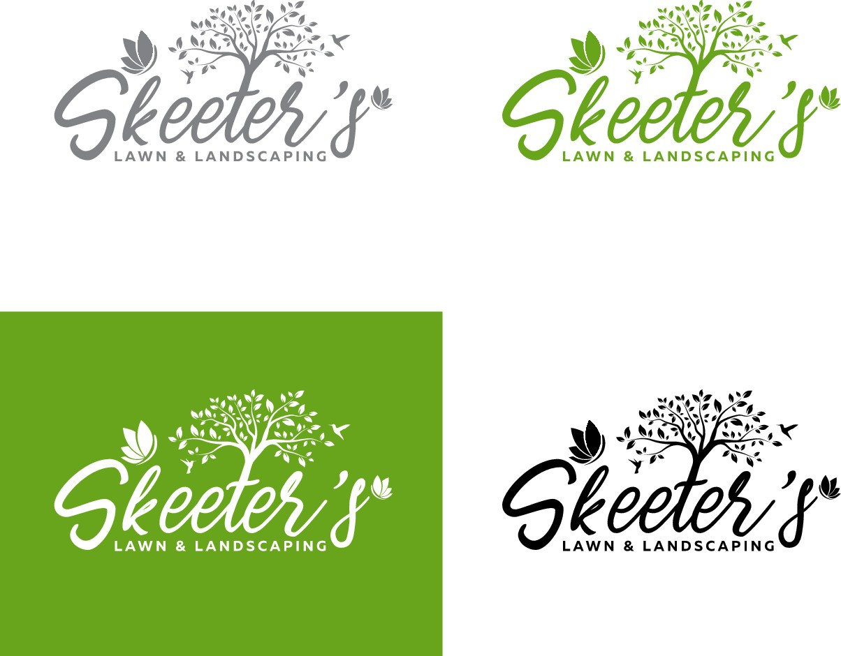 Logo design for landscaping services