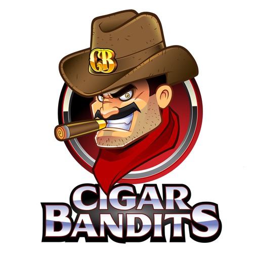 Design a mascot/logo for Cigar Bandits!