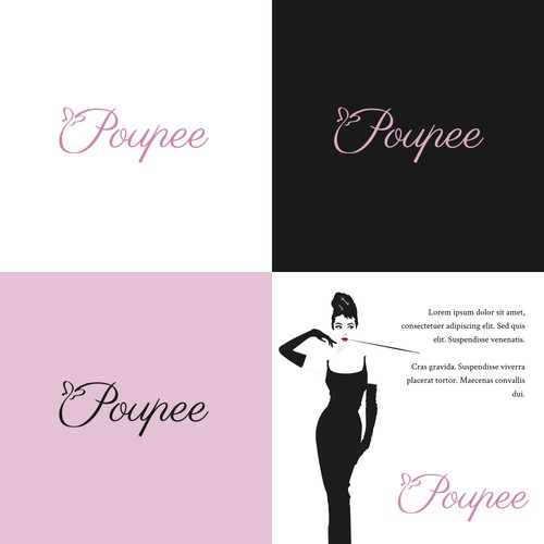 Elegant logo for e apparel company