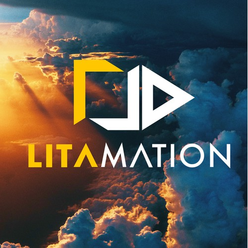 Abstract Logo Design for Litamation