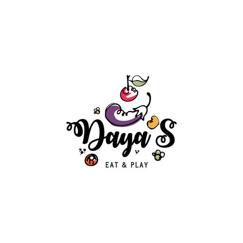 Logo concept for a concept family-friendly restaurant