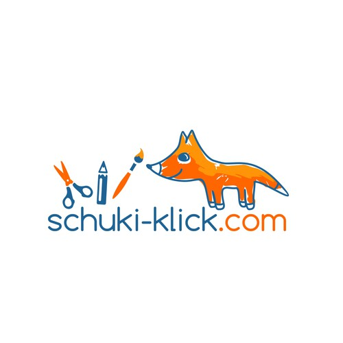 Logo for a  site selling toys and craft materials to kindergartens, schools, therapy facilities and others