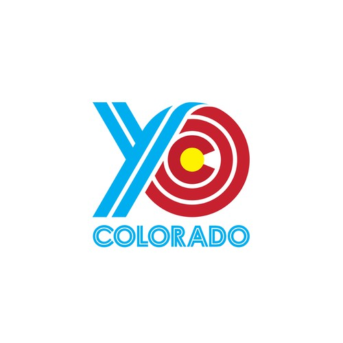 YO COLORADO logo design