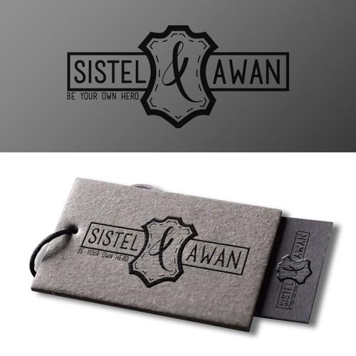 Logo pour une marque de prete à porter en cuir