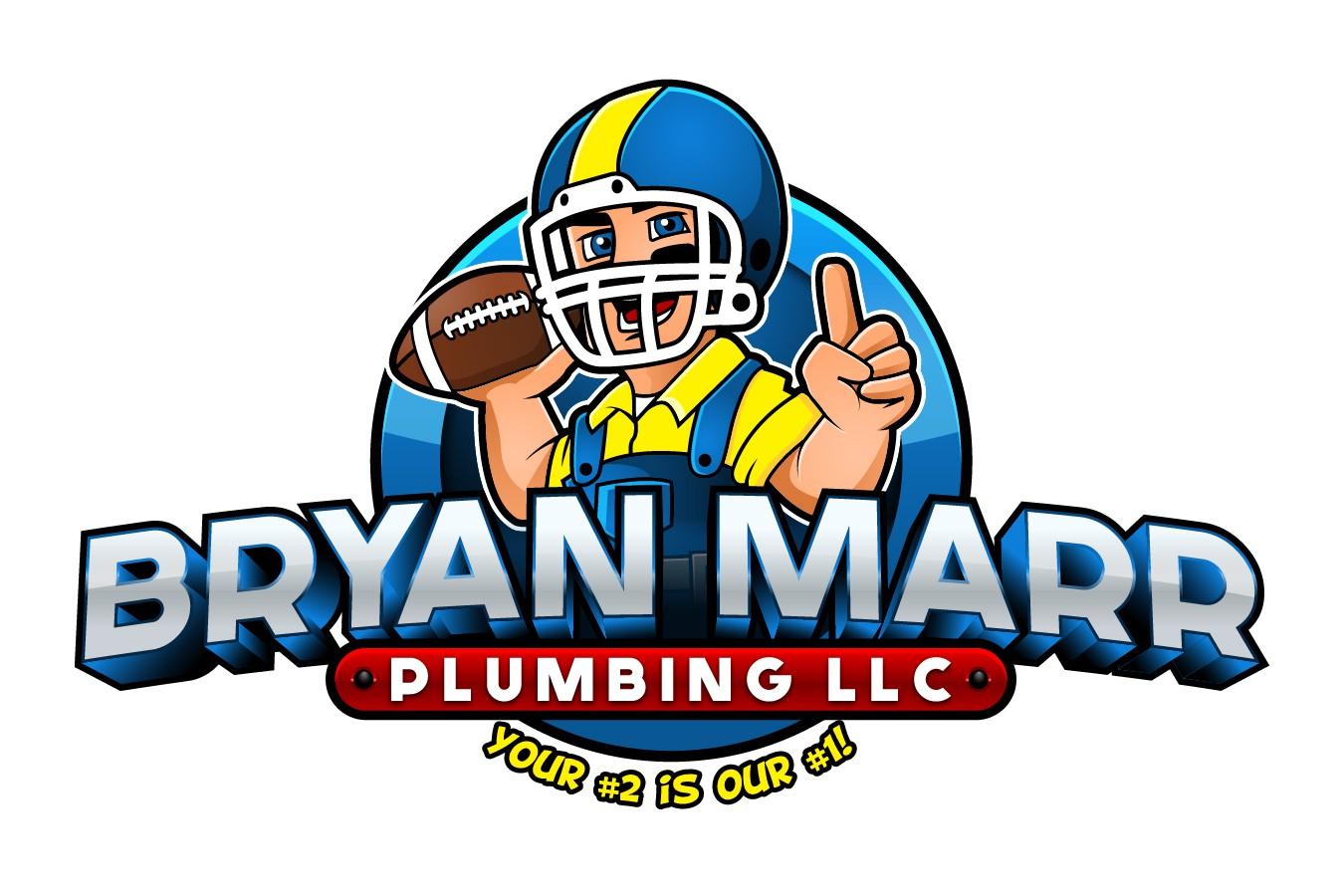 Logo Modification for Bryan Marr Plumbing