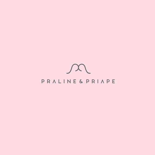 Logo design for Praline&Priape