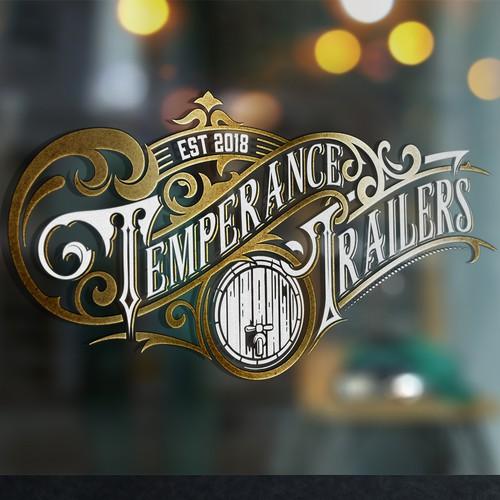Elegant vintage logo