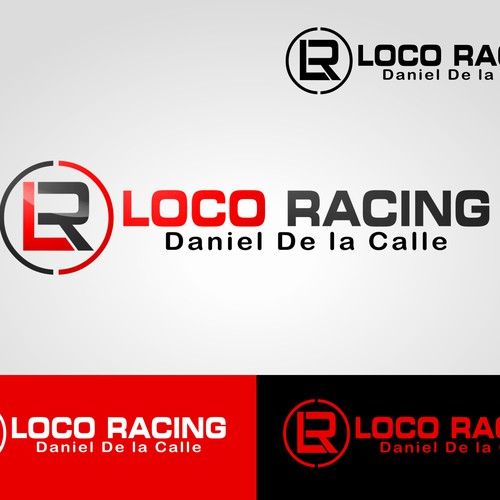 Logo Design for Loco Racing