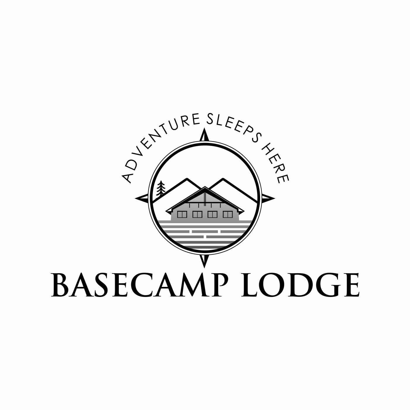need a fun but clean logo for a motel going to re brand to a lodge