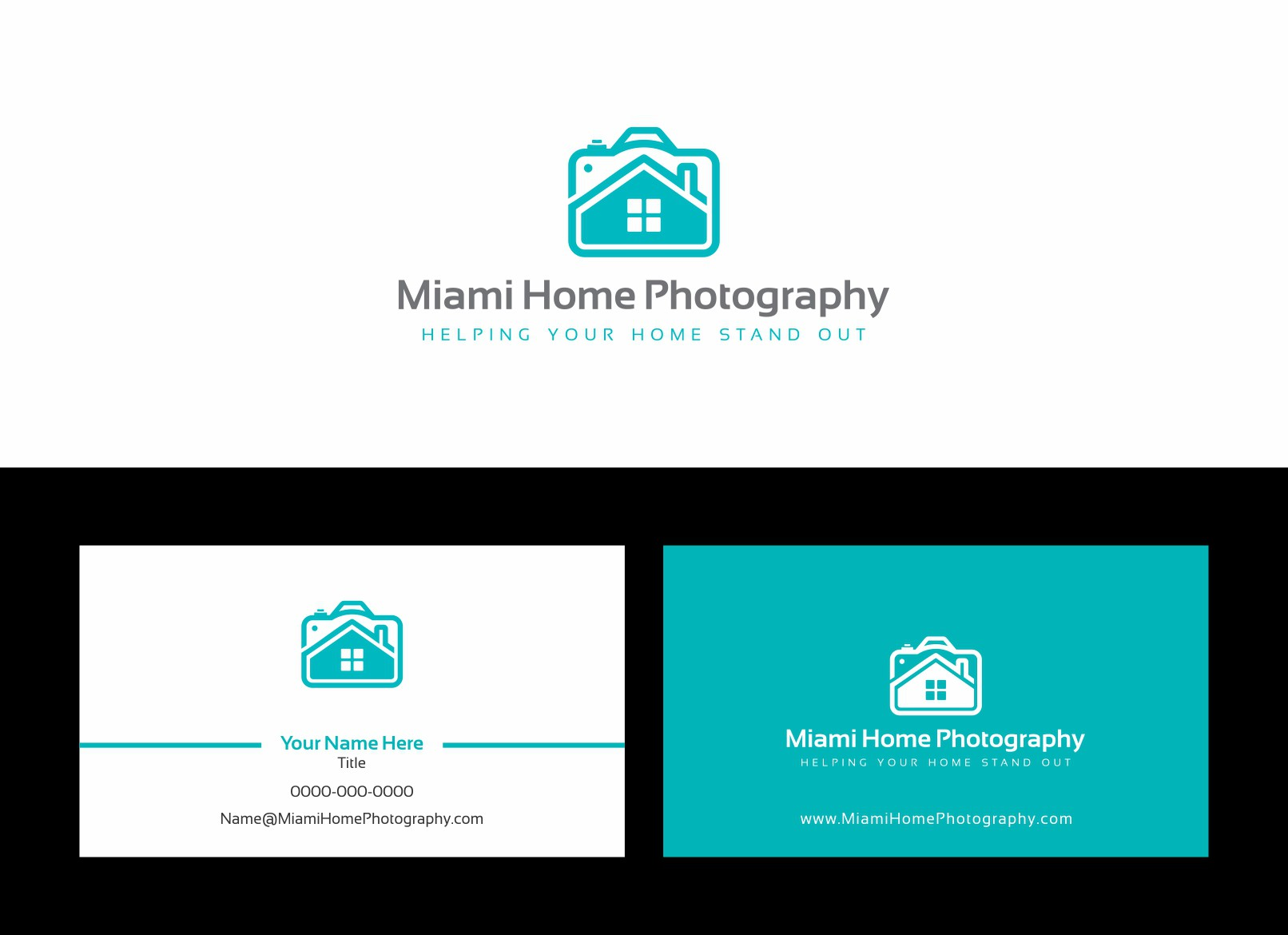 Miami Home Photography needs a new logo and business card