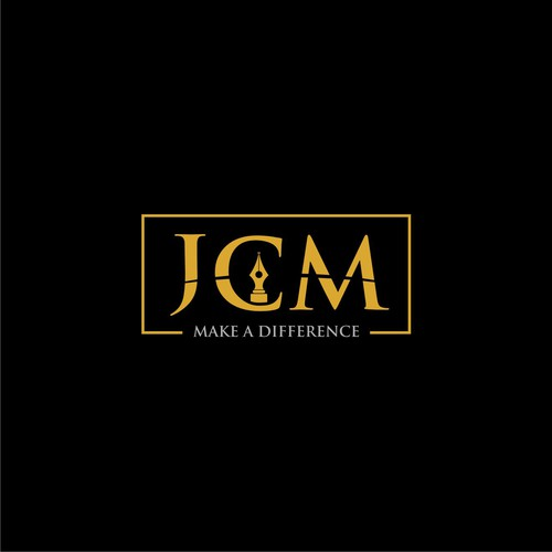 JCM logo design