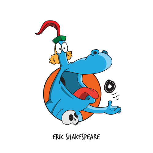 Funny Character Logo+Website