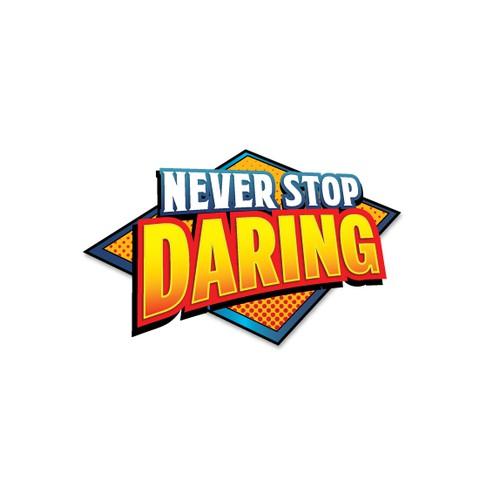 Never Stop Daring Logo
