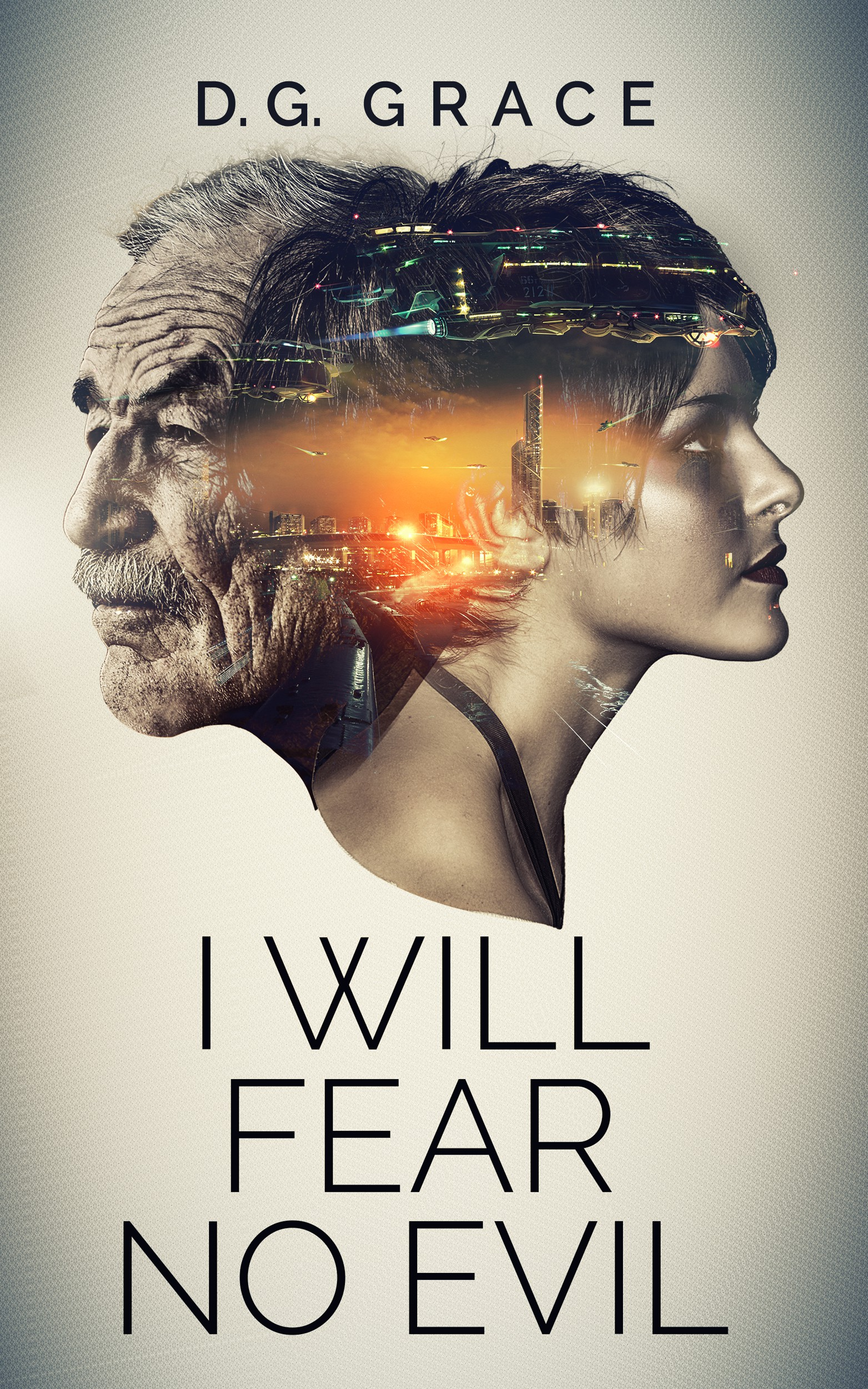 I Will Fear No Evil - e-book cover for a near-future SF novel dealing with gender identity.