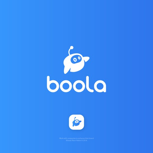 Design a logo for boola