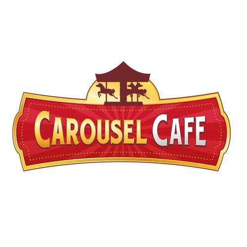Sign for Carousel Cafe