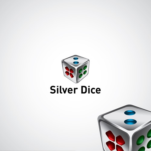 3D Logo for Silver Dice