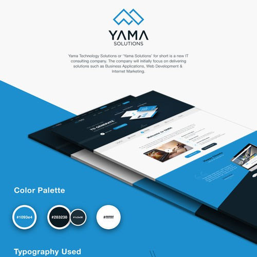 Website design for IT company