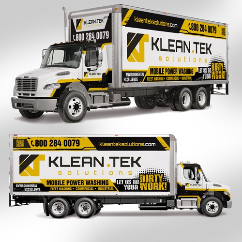 TRUCK WRAP CONTEST FOR MOBILE PRESSURE WASHING BUSINESS