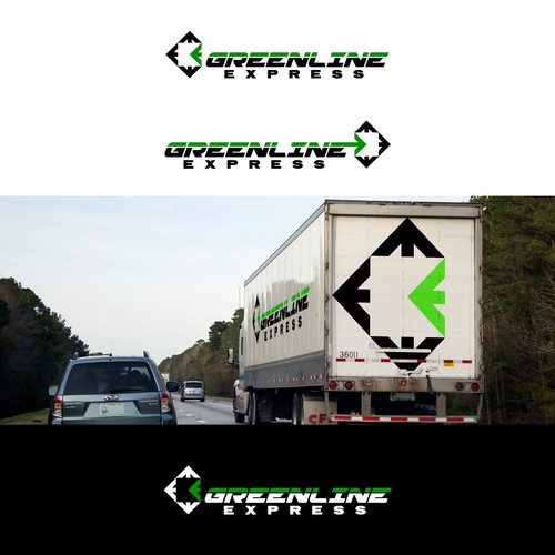 trucking logo contest entry, owner has asked for a refund.