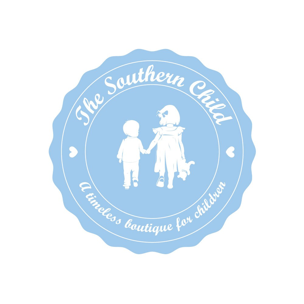 Design a timeless logo for a children's clothing boutique