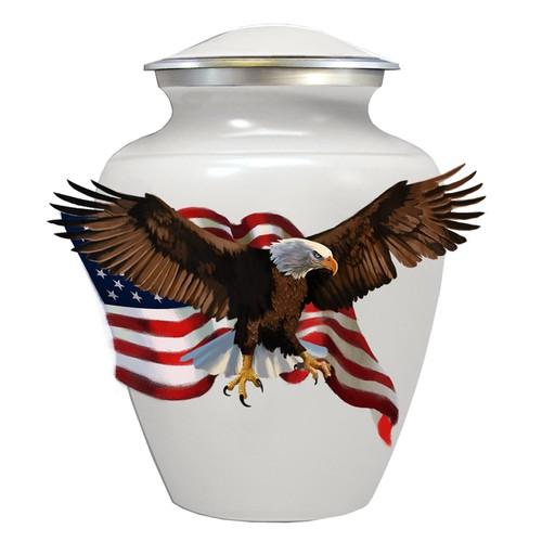 eagle urn sticker